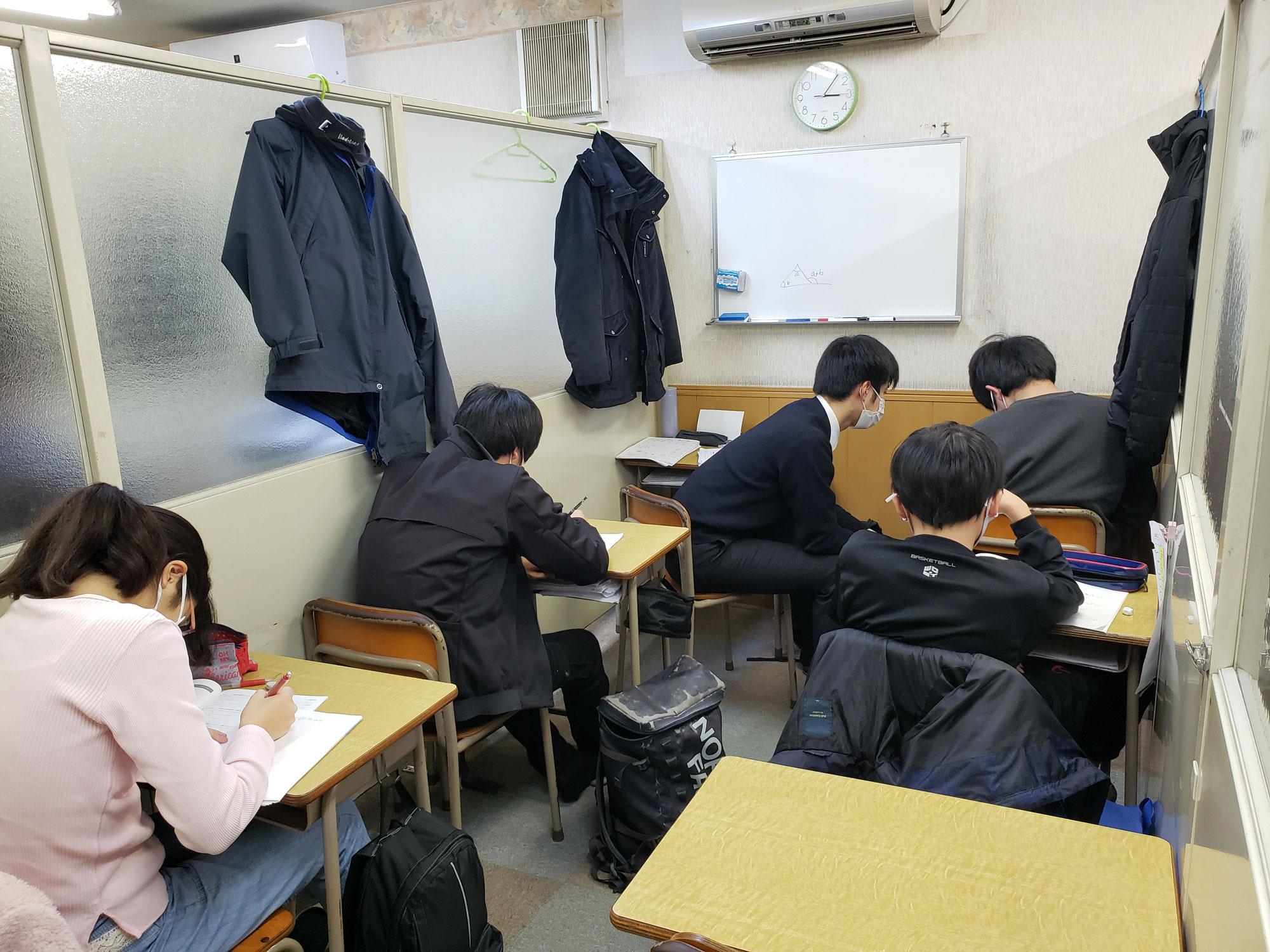 冬期講習、お疲れ様でした。1/7からは通常授業が始まります