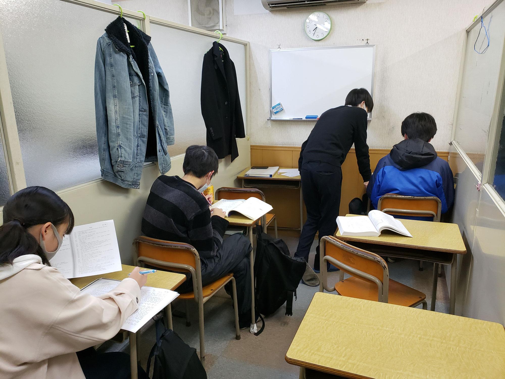 【大学入学共通テスト後は、一般選抜入試に向けての対策と中学生は過去問と面接練習】