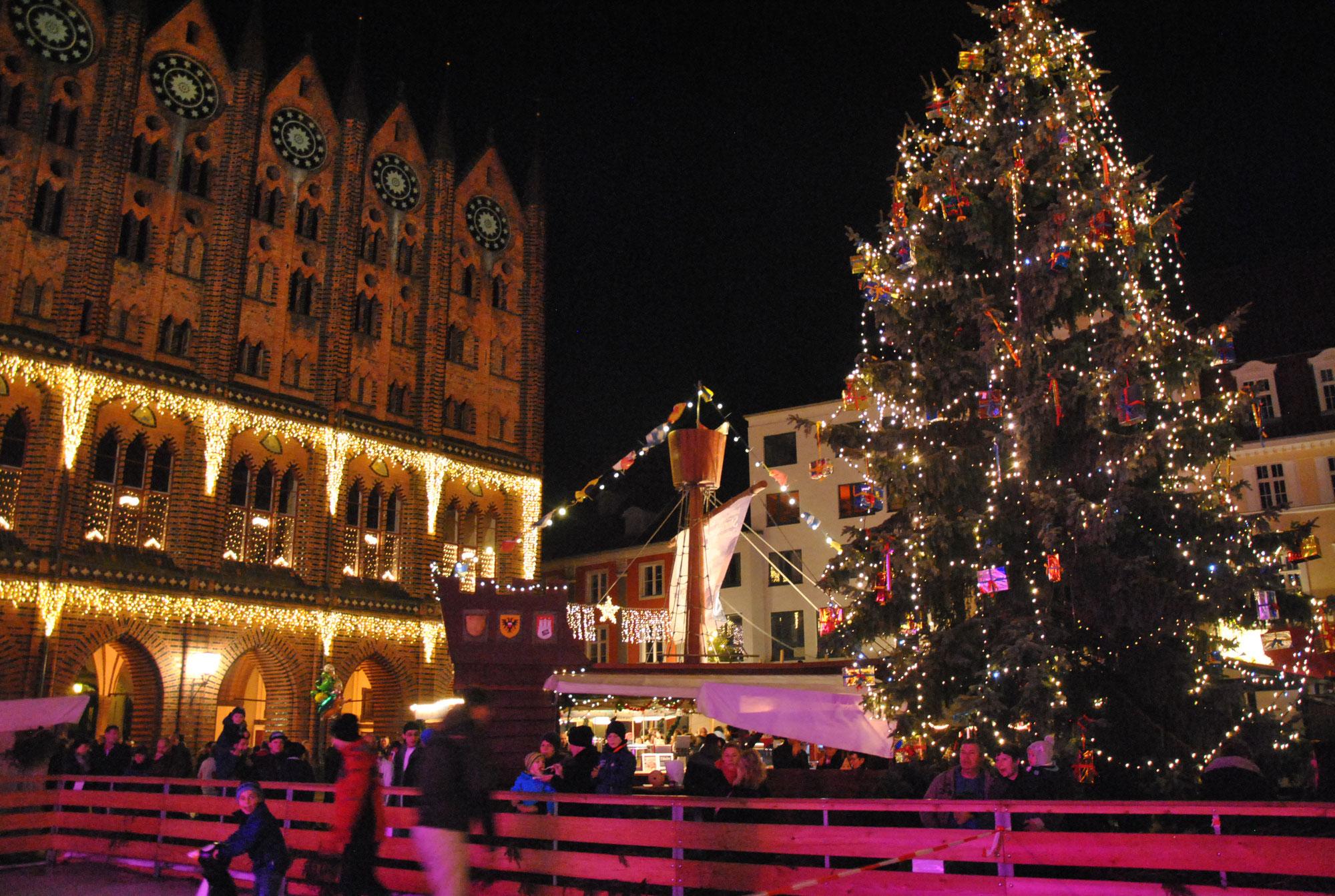 Weihnachtsmarkt Stralsund 2021
