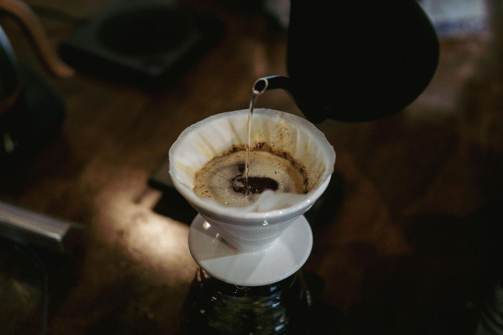 Coffee Brewing mit der Hario V60