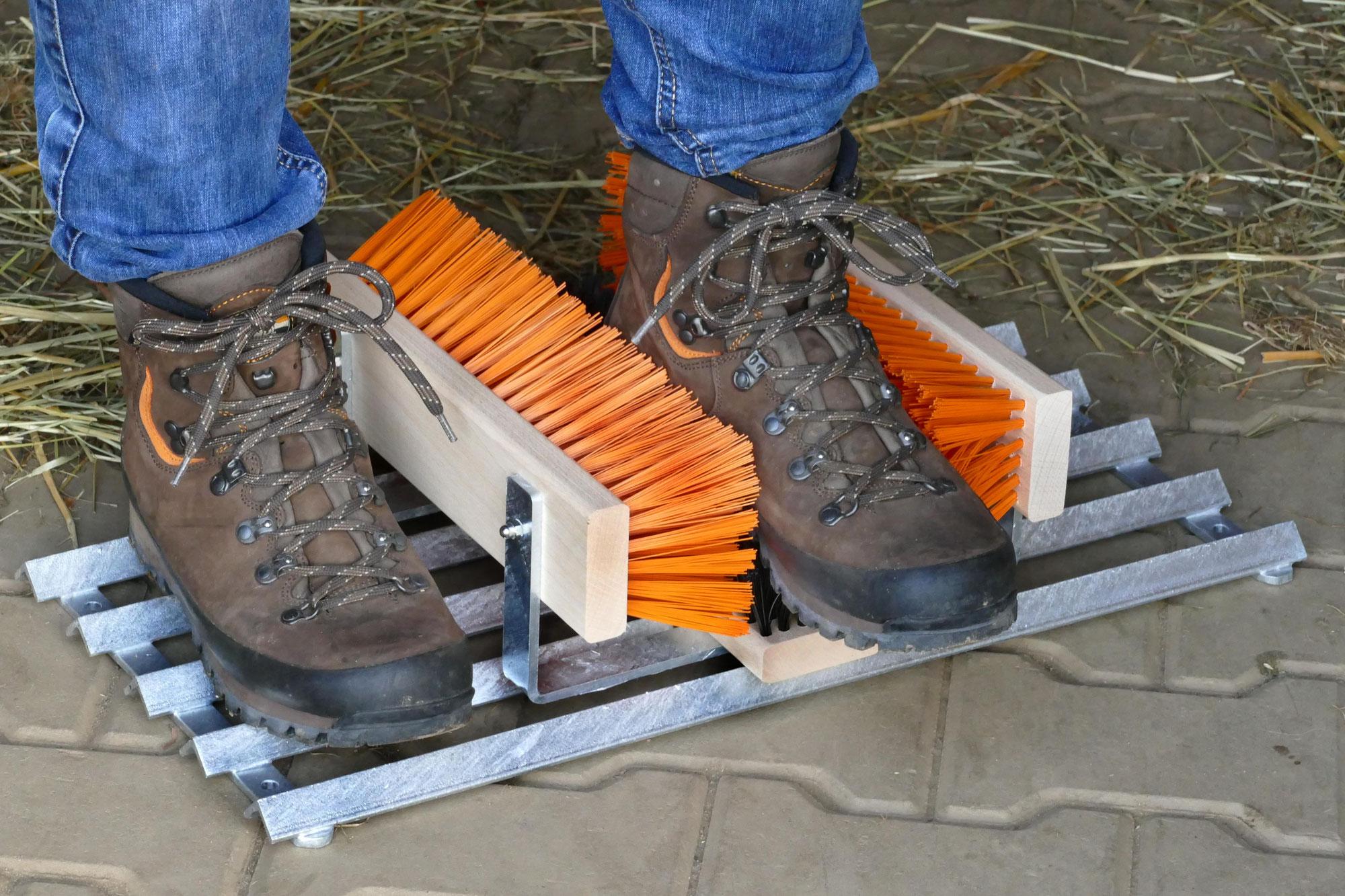 Abstreicher für Schuhe
