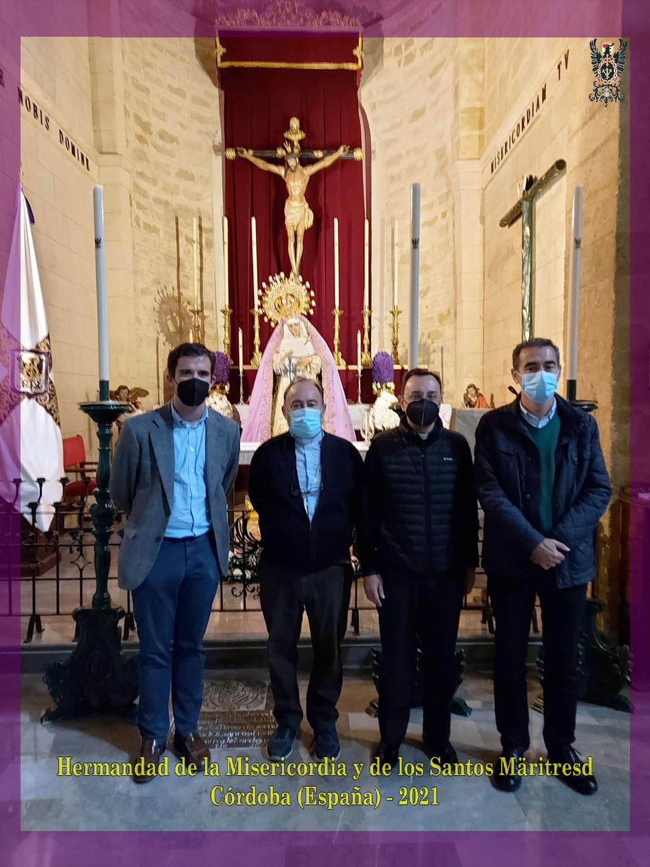 Visita a San Pedro del obispo de Bangassou