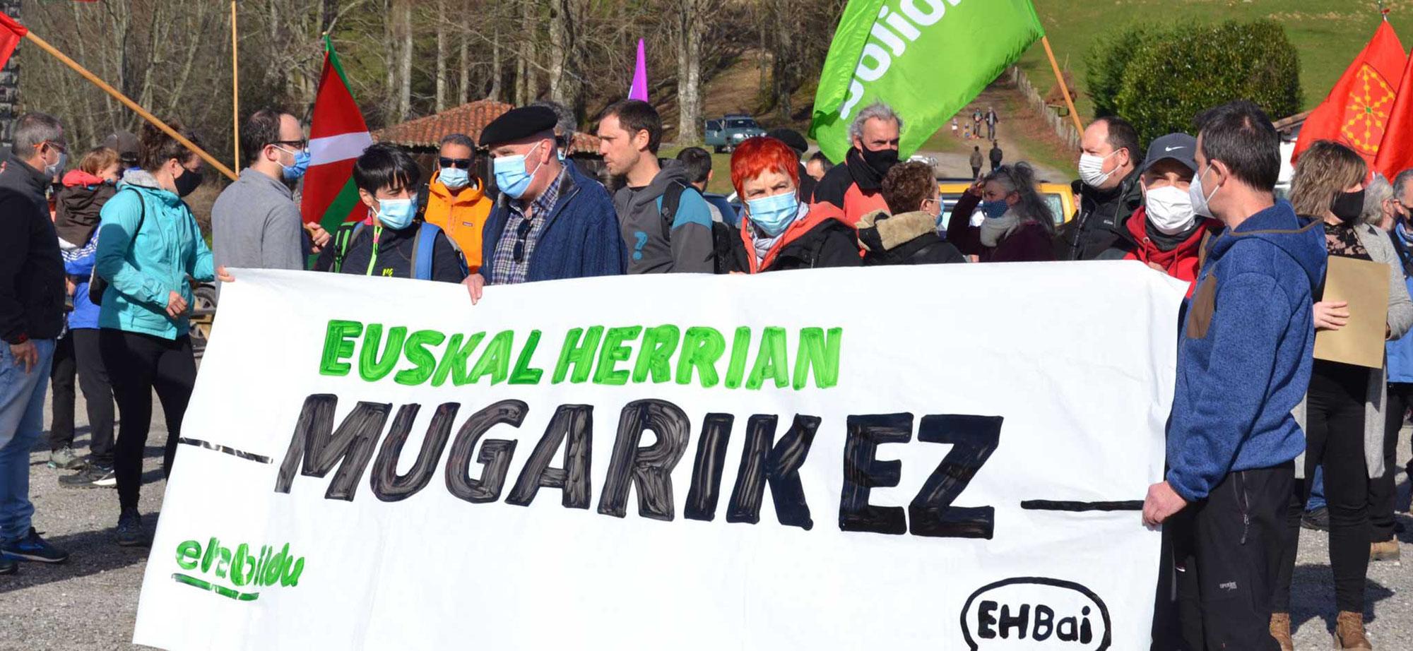 Pas de frontière au Pays Basque!