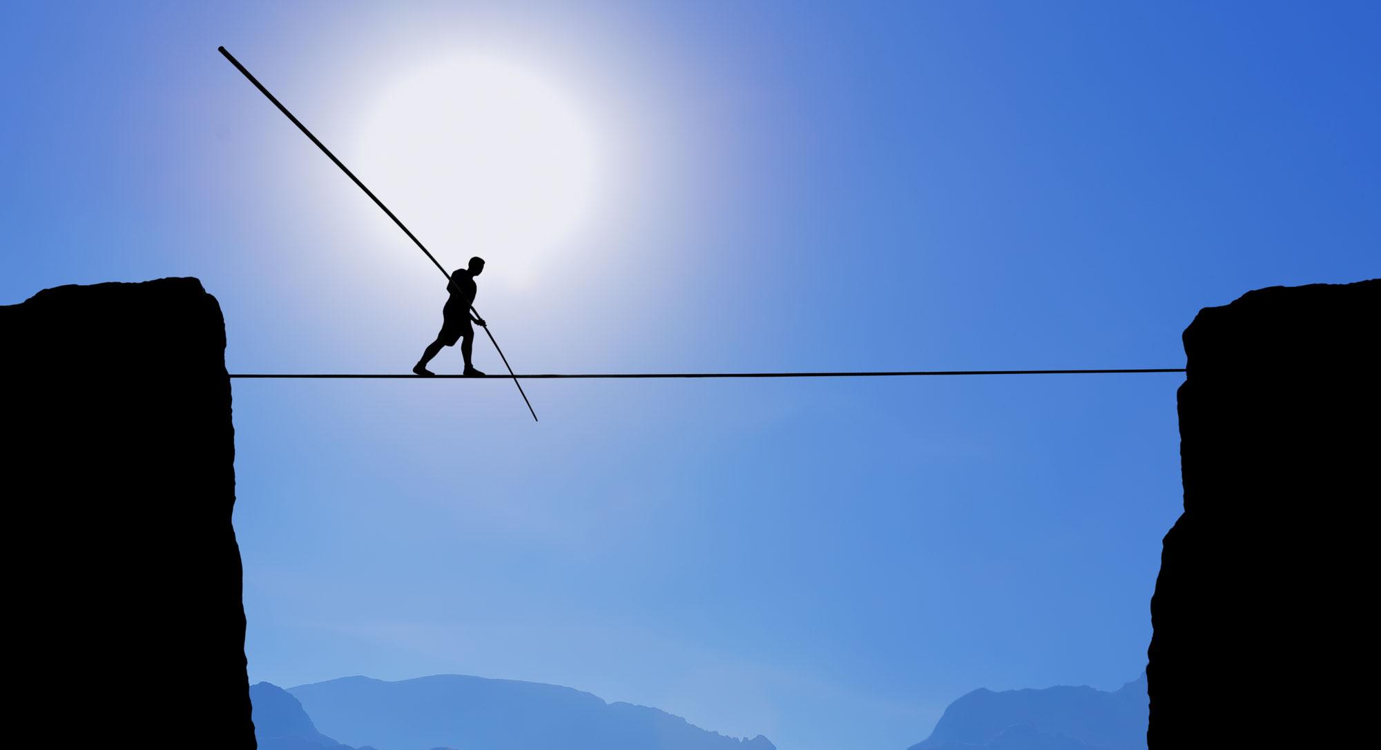 Life-Balance - in der Mitte liegt die Kraft