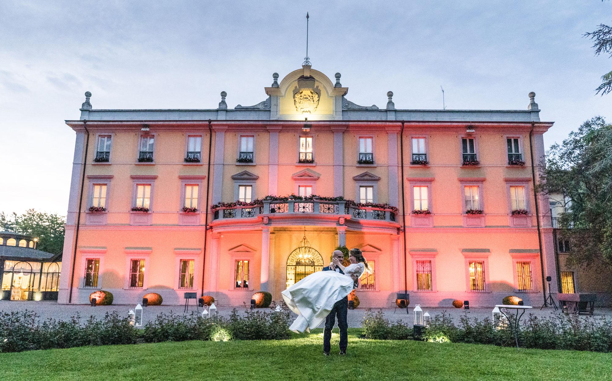 Fotografo Matrimonio Milano - Matrimonio Villa Acquaroli - Maddalena e Michael