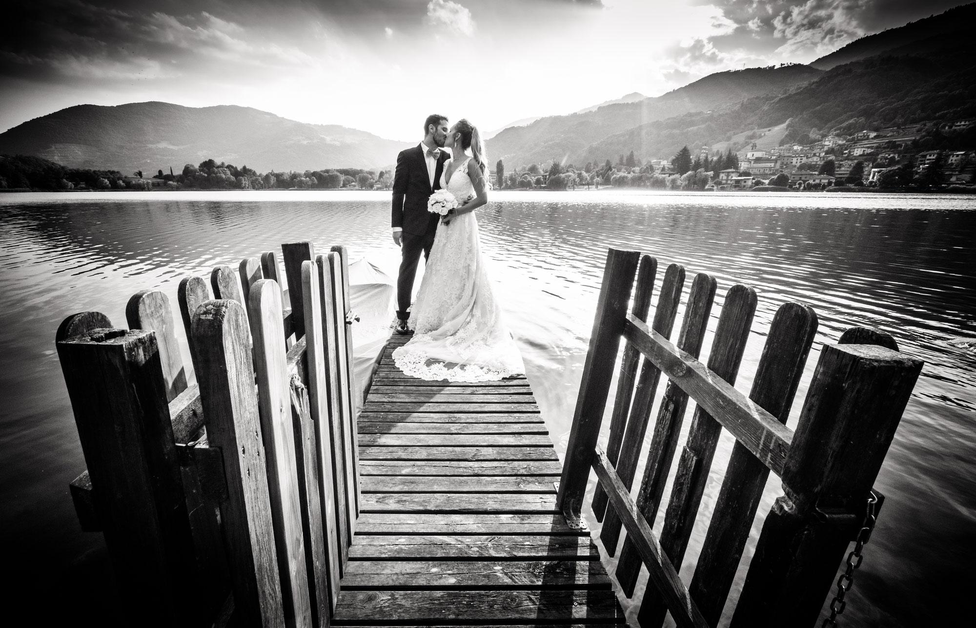 Fotografo Matrimonio Lago di Endine, con Lucia e Gabriel