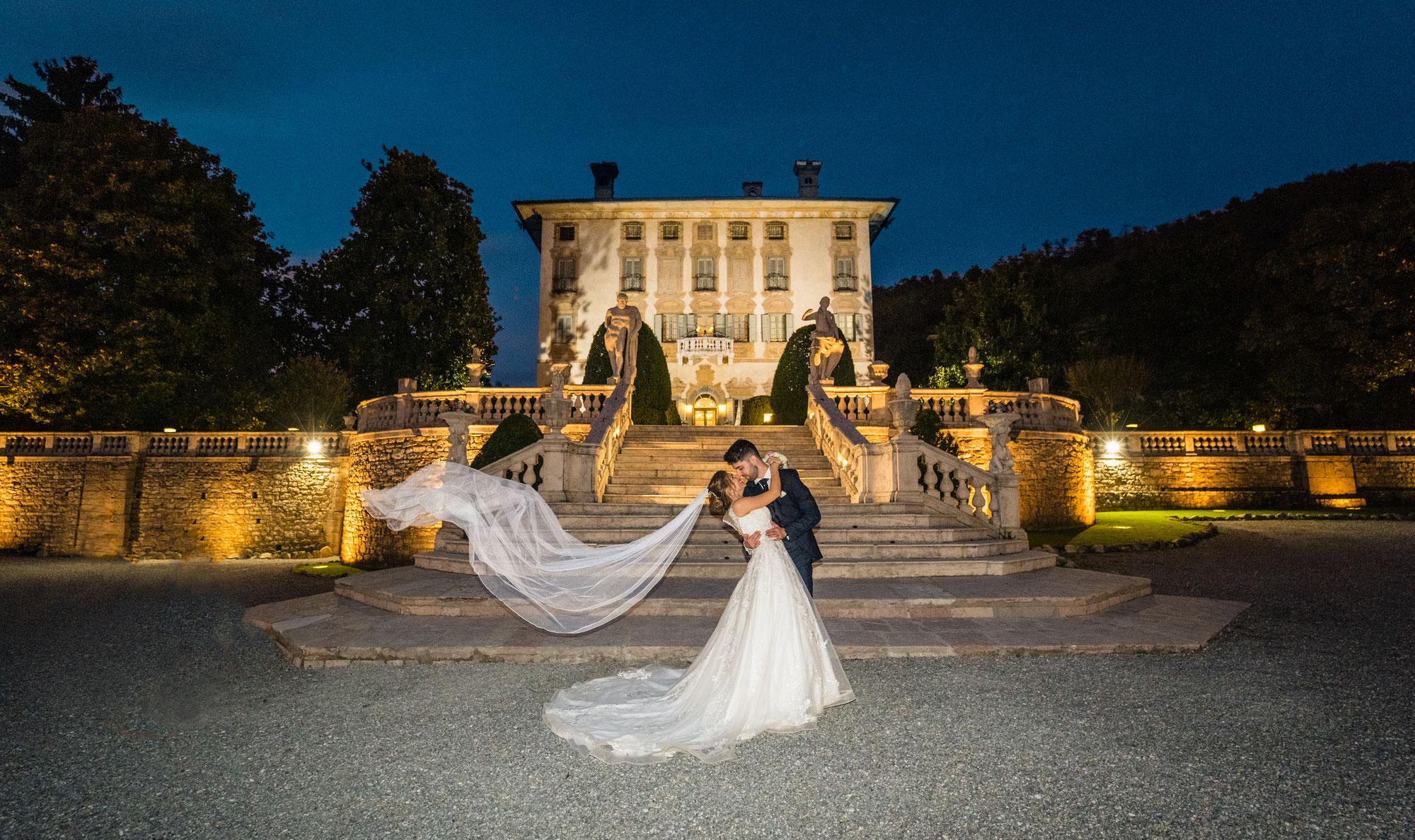 Fotografo Matrimonio Bergamo - Matrimonio Villa Canton - Erika e Andrea
