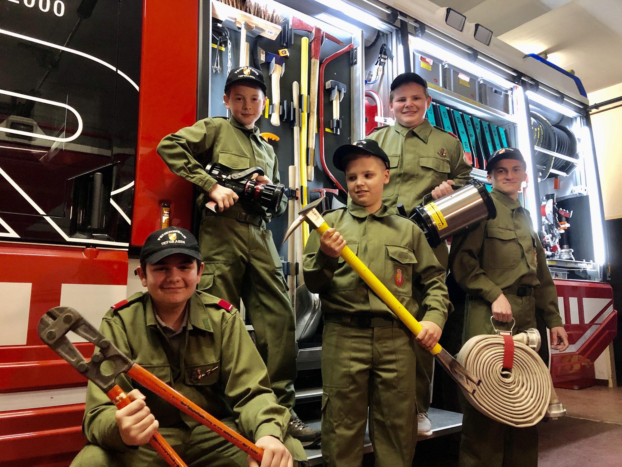Feuerwehrjugend - Wissenstest Teil 2 erfolgreich