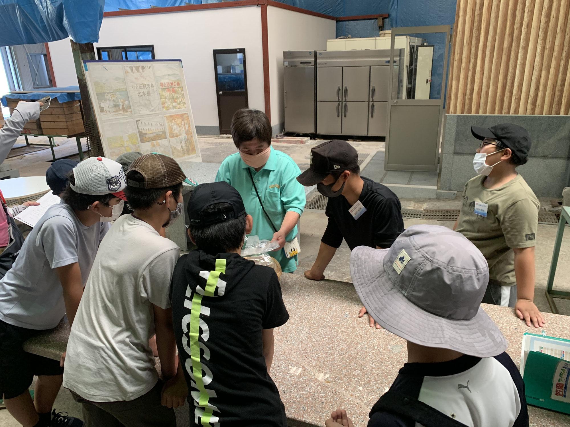 笠岡の海と文化を学ぶお手伝いをさせて頂きました!