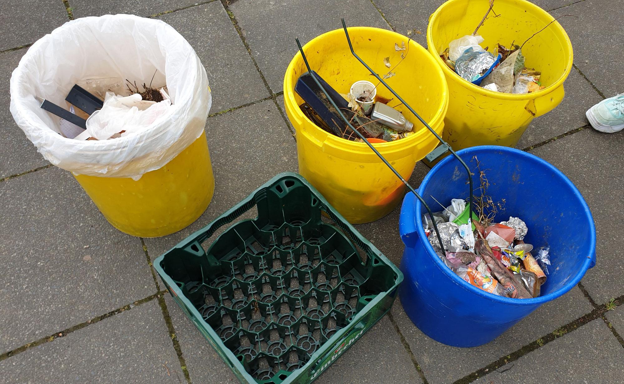 Die Klasse 6a berichtet über Umweltschutz und ihre Müllsammelaktion