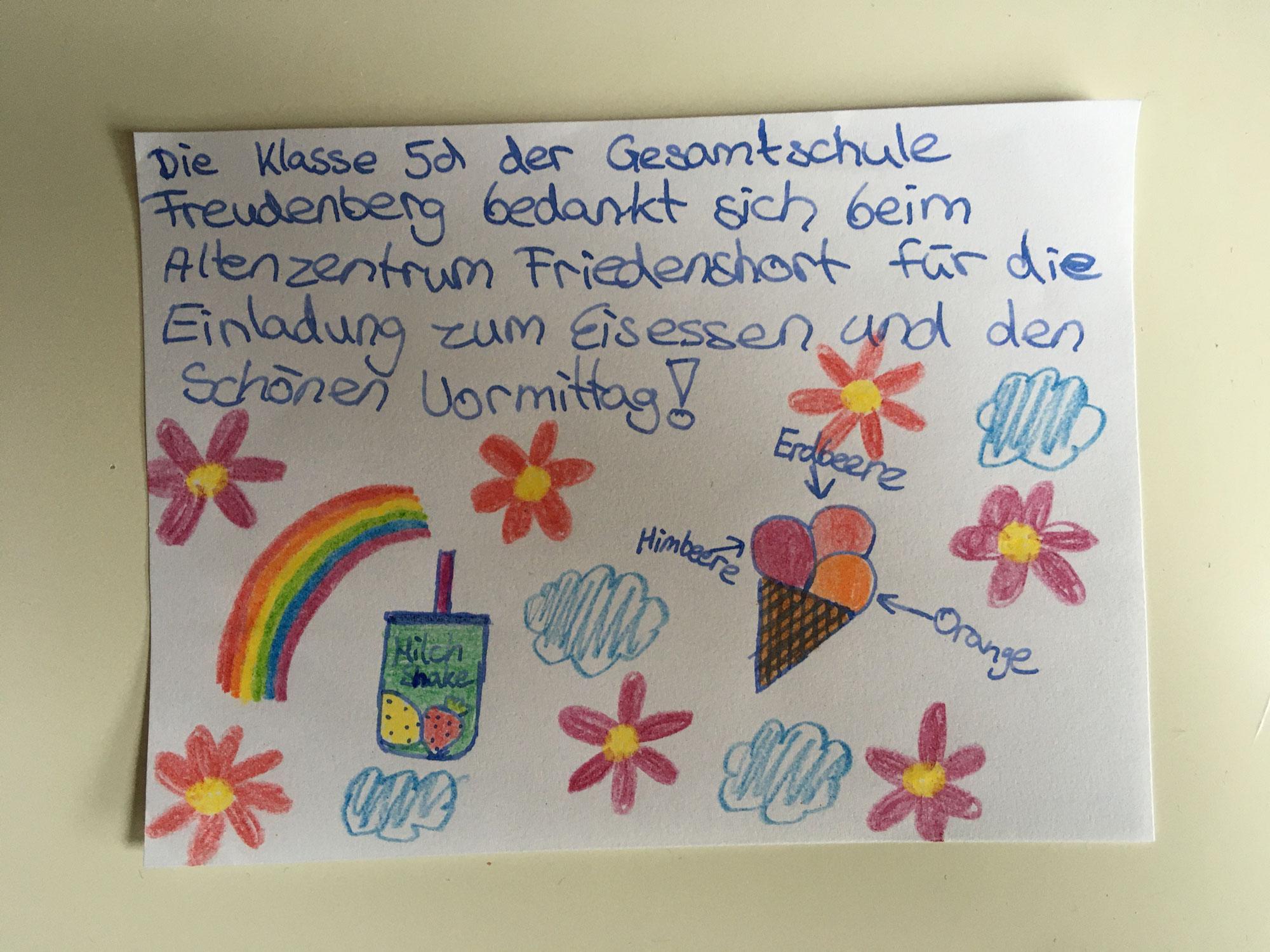 """Zu Gast im """"mobilen Eiscafé"""" des Altenzentrums Friedenshort"""