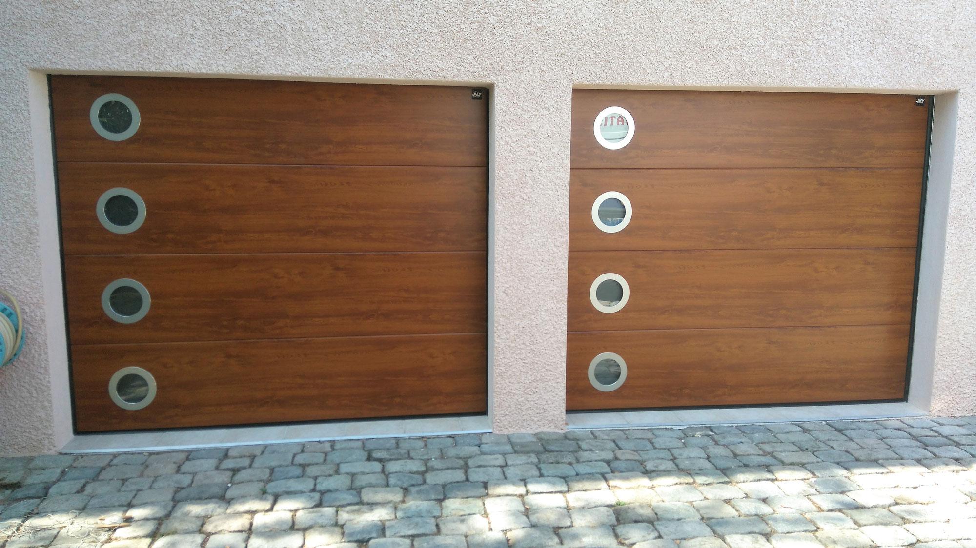 fabrication porte de garage en bois portes de garage sarl bois cyril fabricant installateur