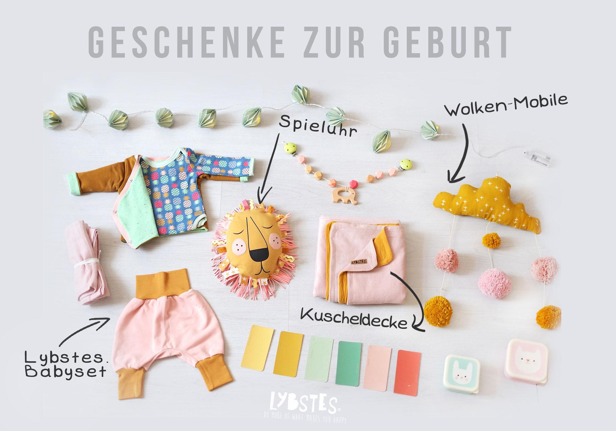 DIY: Geschenke zur Geburt selbermachen