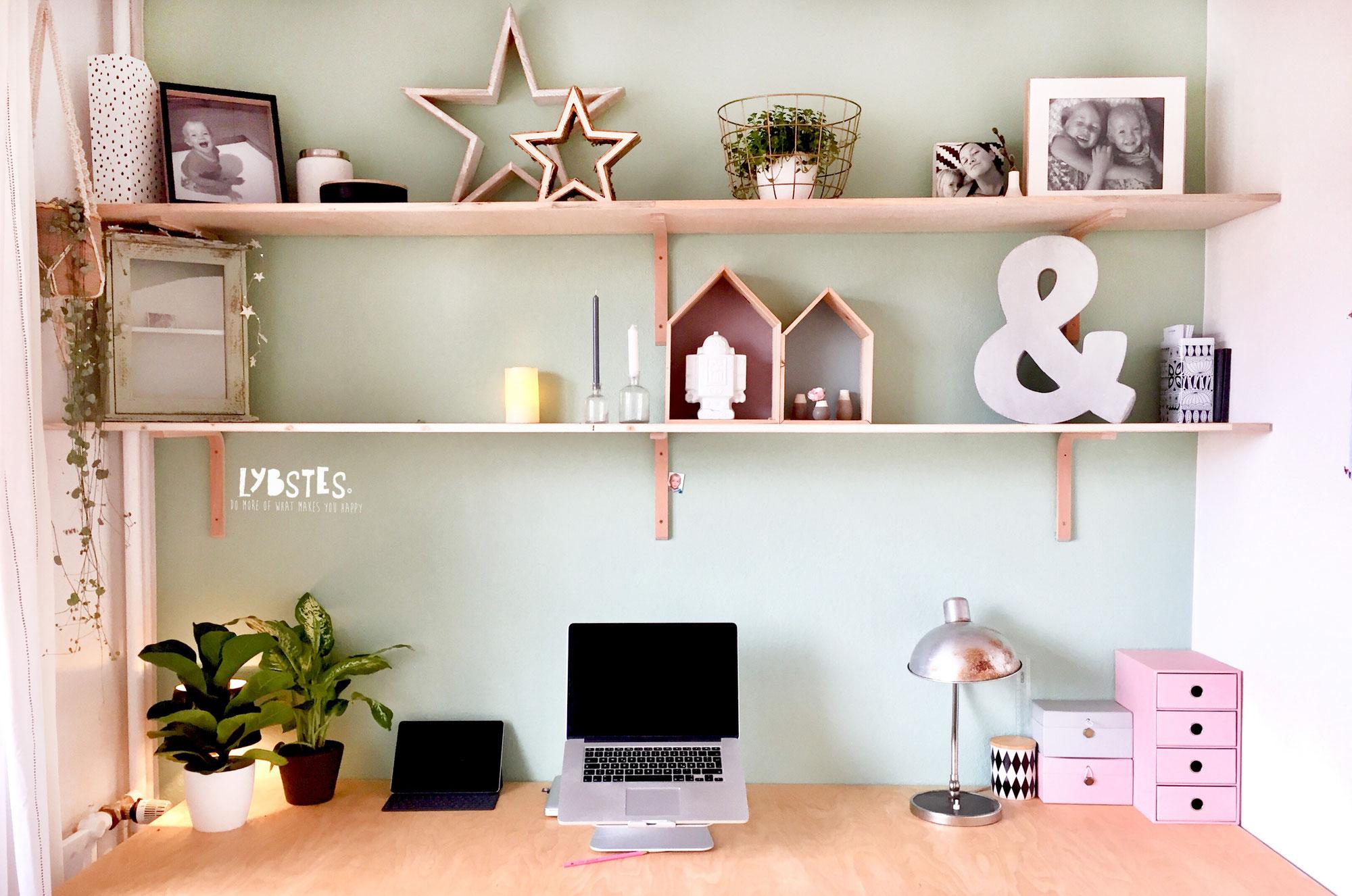 Unser Haus: Working Space und Kindermalecke