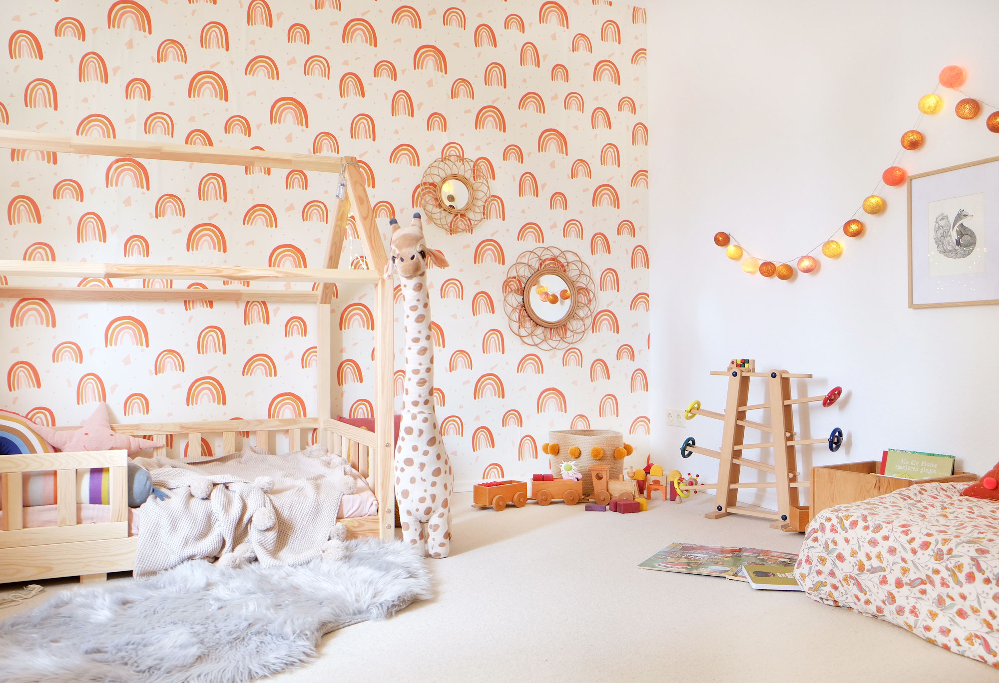 Unser Haus: Kinderzimmer im Boho-Look