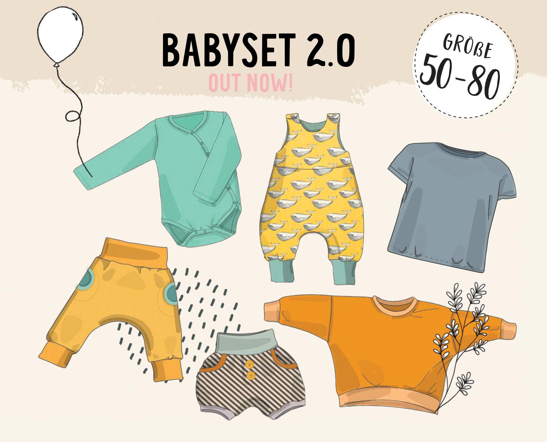 NEU: Babyset 2.0 - sechs Schnitte für NähanfängerInnen