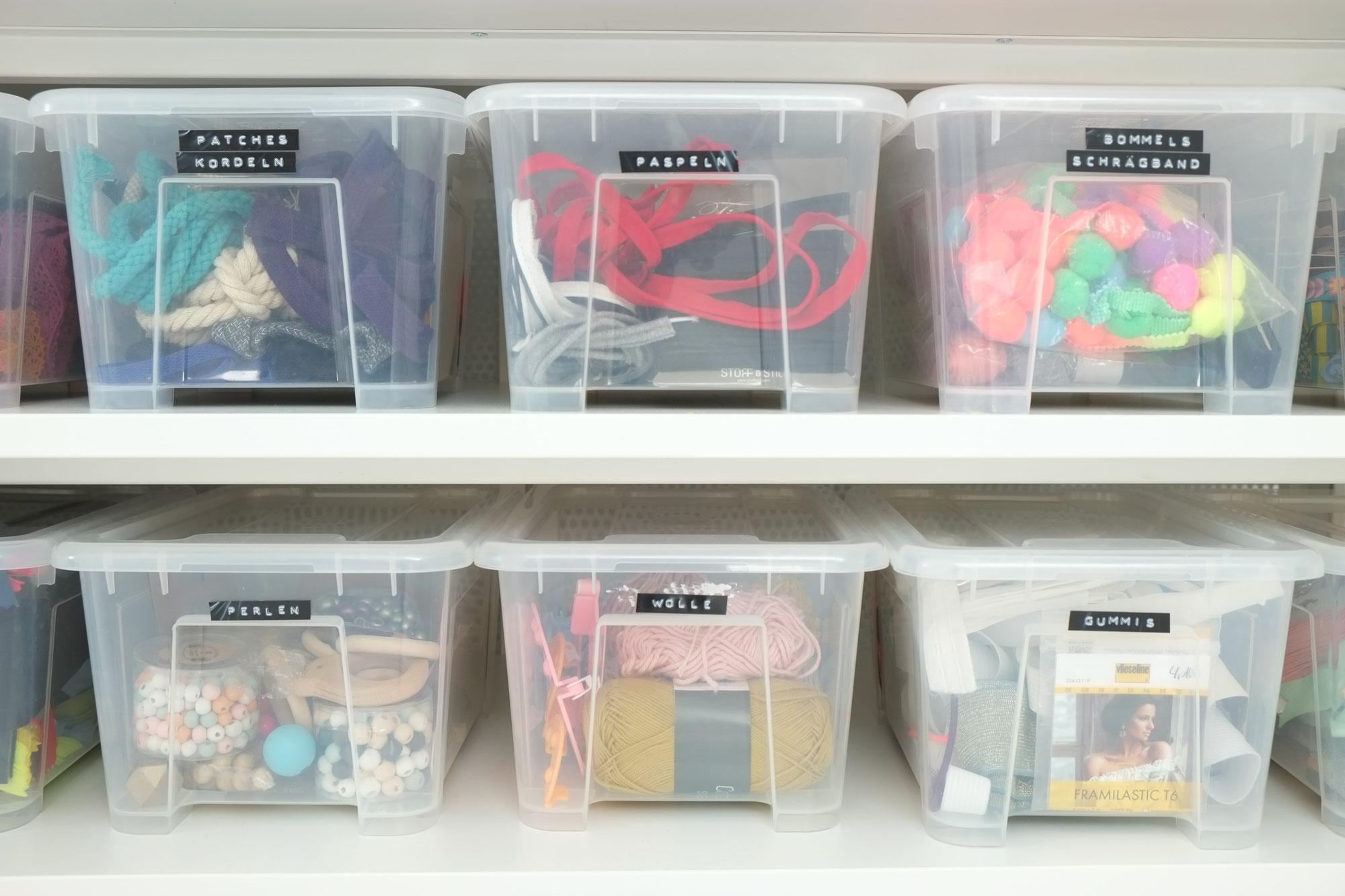 Mein Ordnungssystem: Aufräumen im Nähzimmer