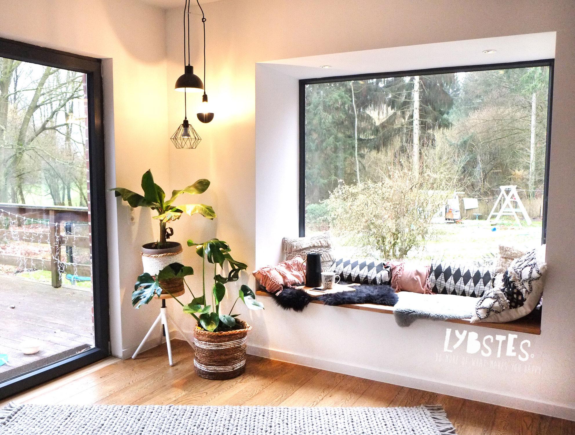 Unser Haus: Lieblingsplatz Sitzfenster