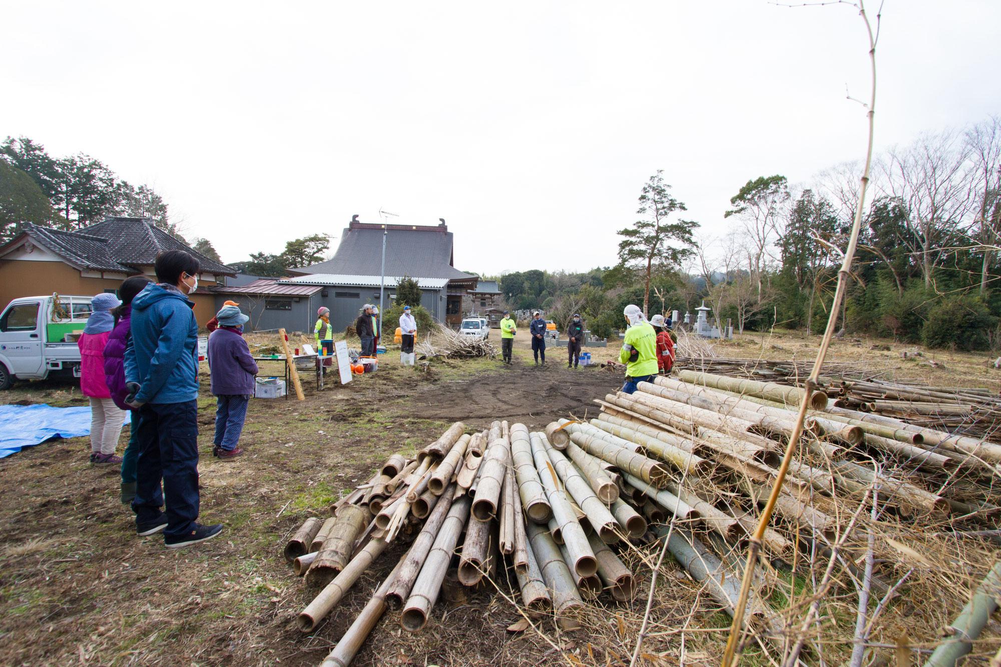 1月の竹炭イベント報告