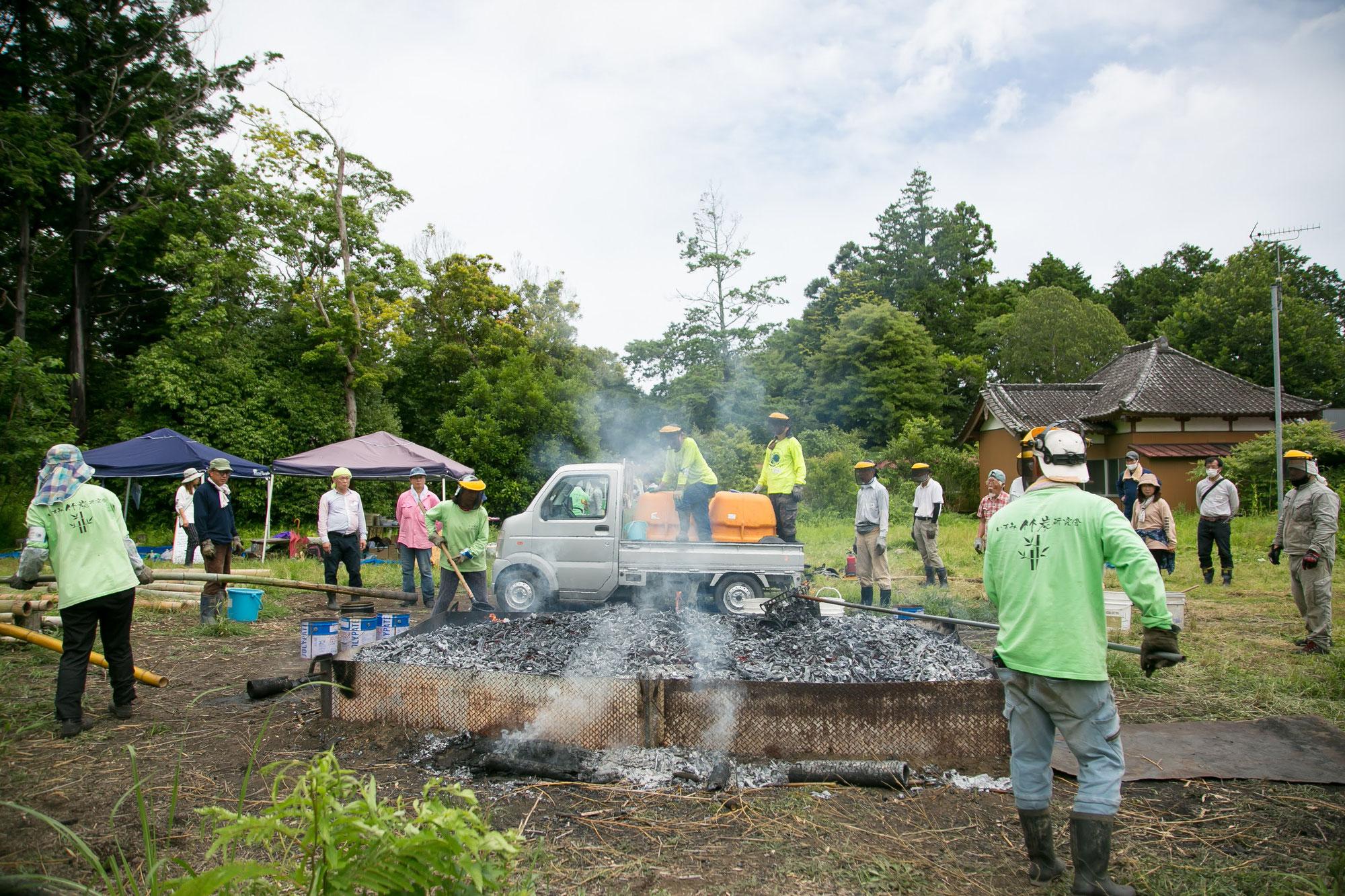 6月の竹炭イベント報告