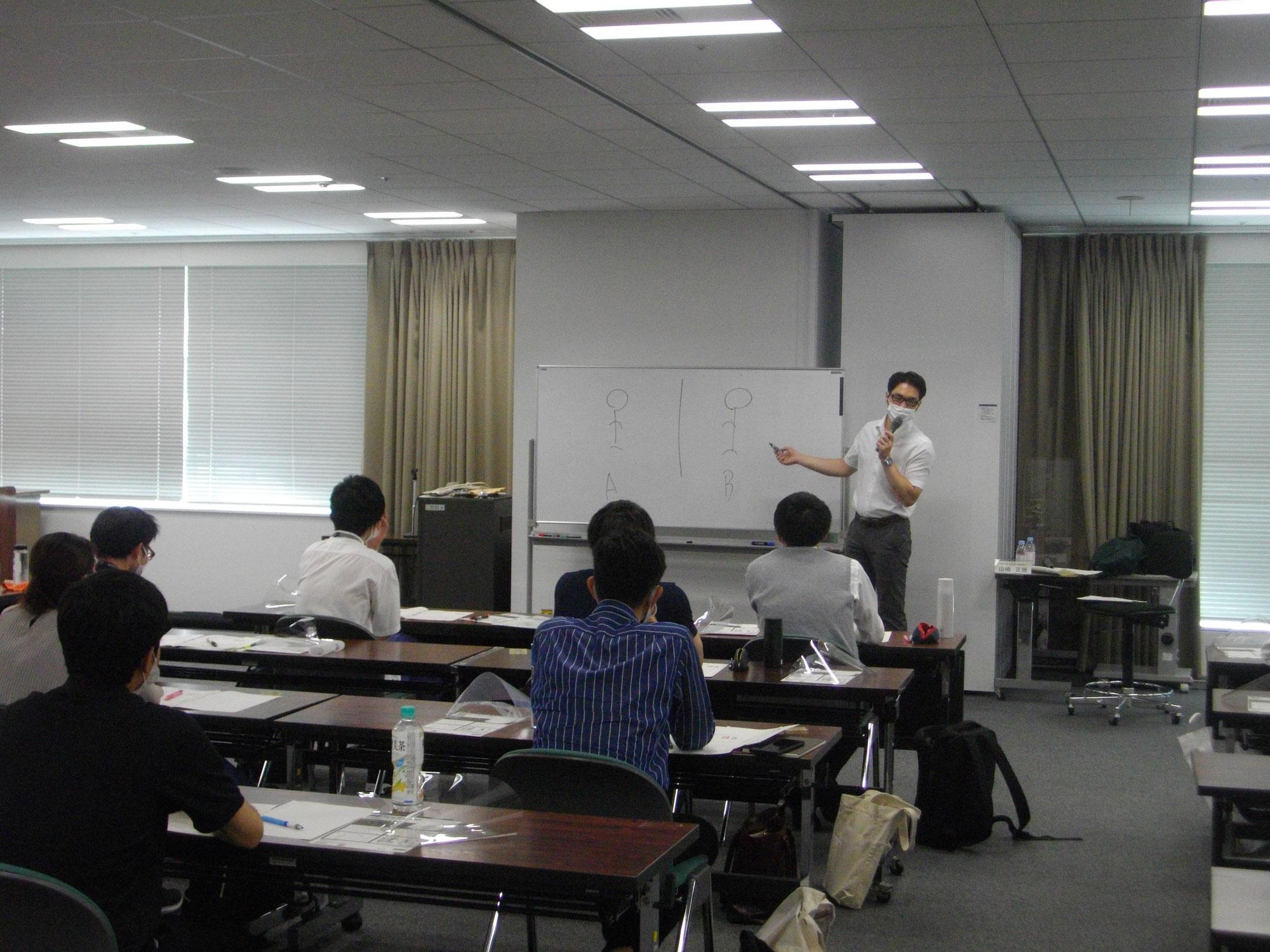 東京23区の生活保護ケースワーカーを対象に、「メンタルセルフケア」をテーマに講演を行いました。