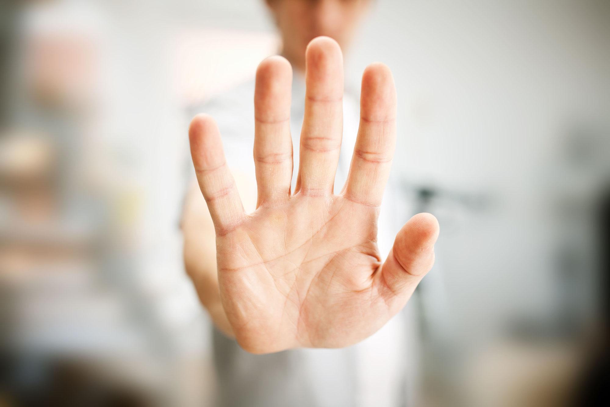 利用者・患者からの暴言暴力への対応マニュアル⑥「暴力に対する職場の限界設定」