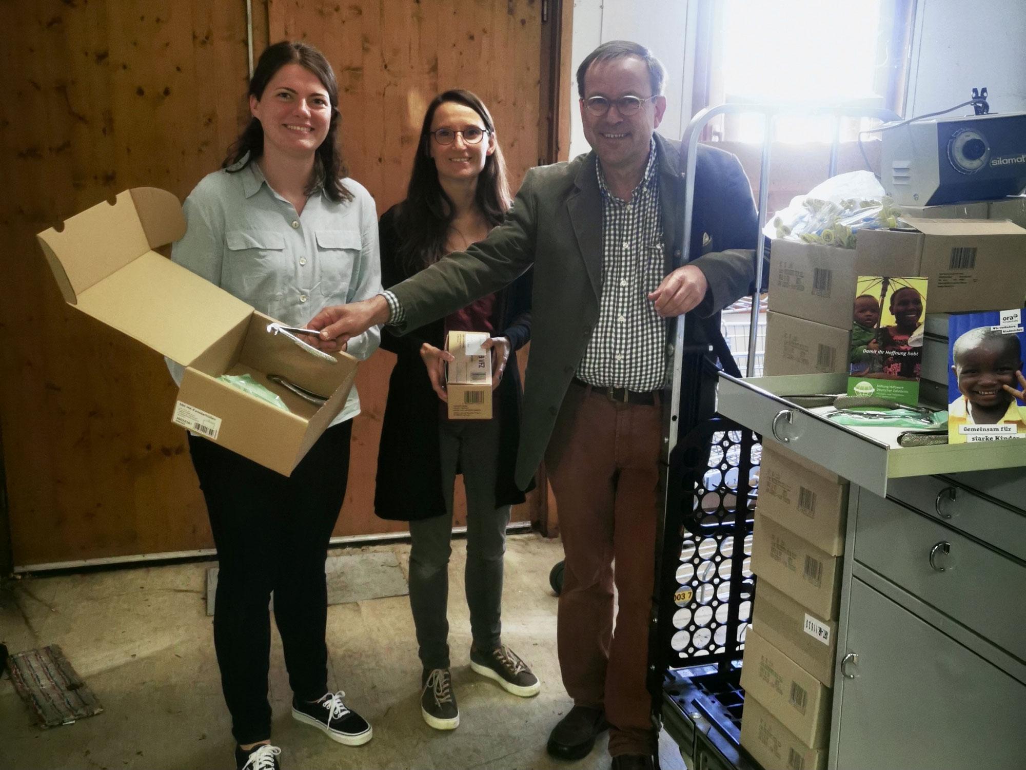 Neue Zusammenarbeit mit der ora Kinderhilfe aus Berlin