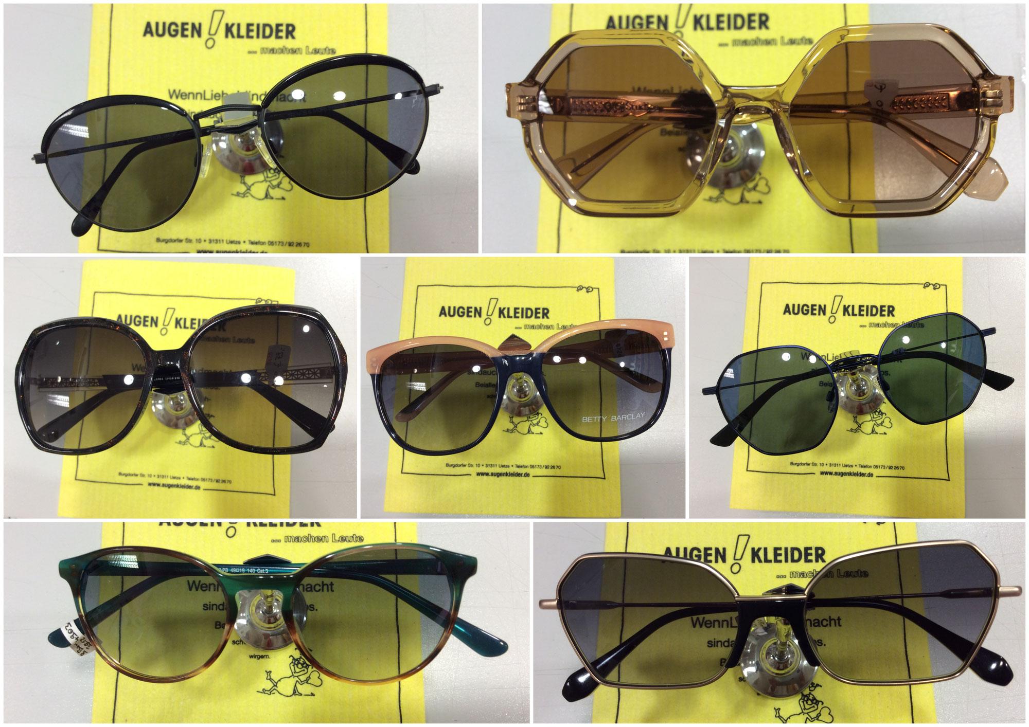 Neuschnee und Sonnenbrillen