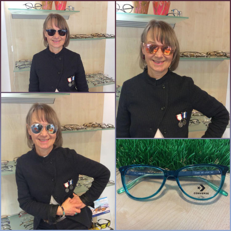 Neue Damenbrillen und Damensonnenbrillen in unserer Brillengalerie