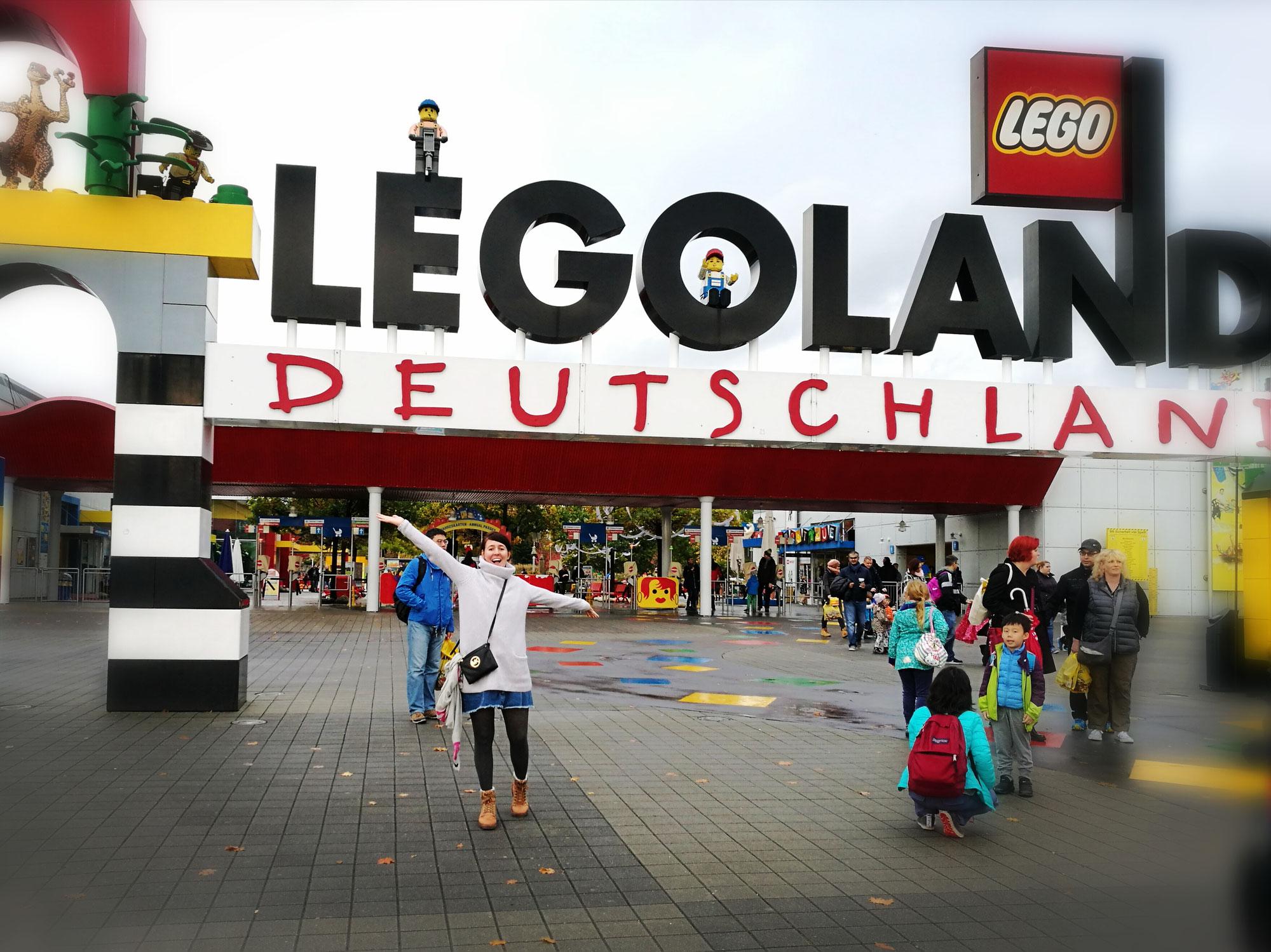 Großartiger Tag im Legoland