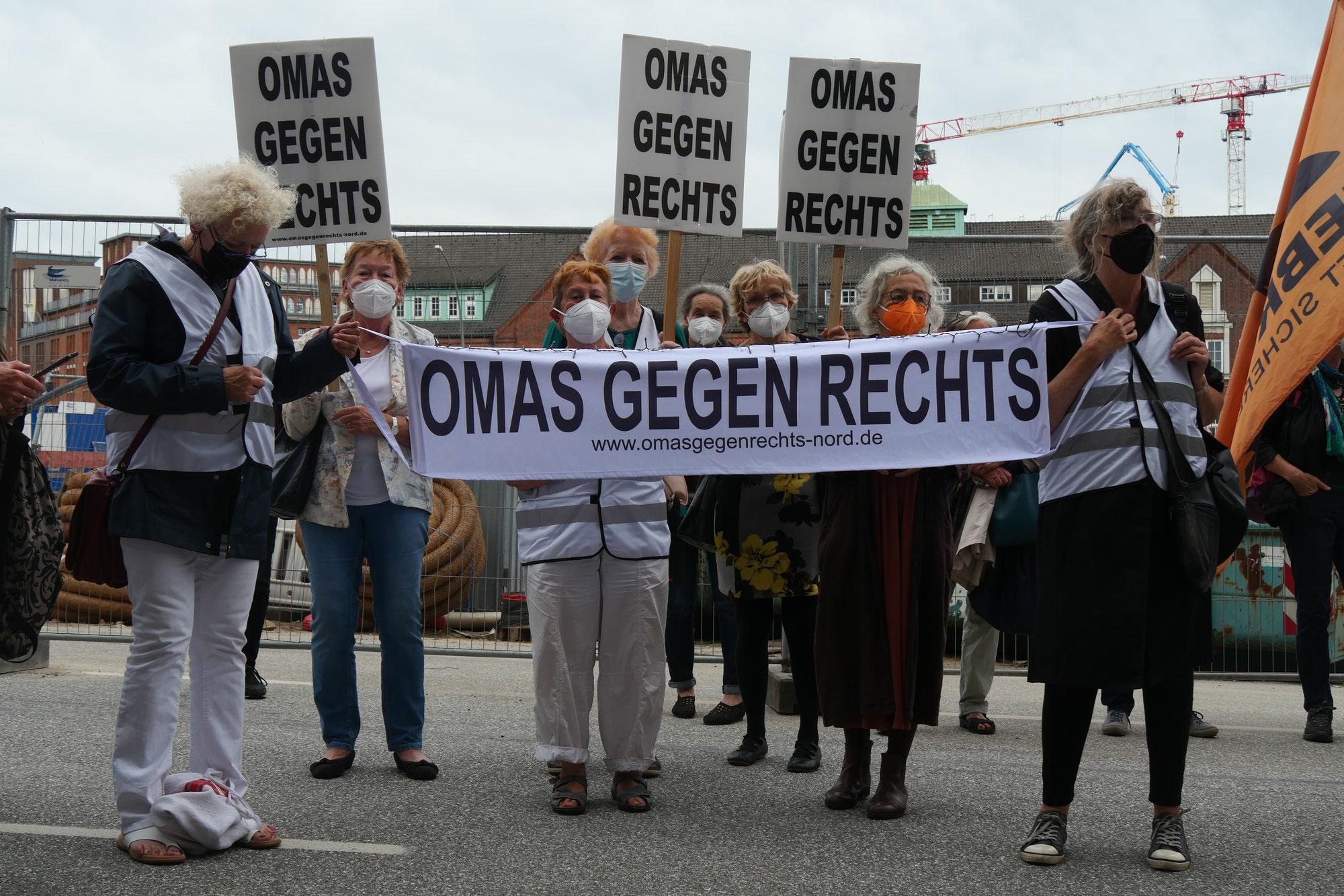 """""""Abschiebung tötet """" - Kundgebung am 06.07.2021 in Hamburg"""