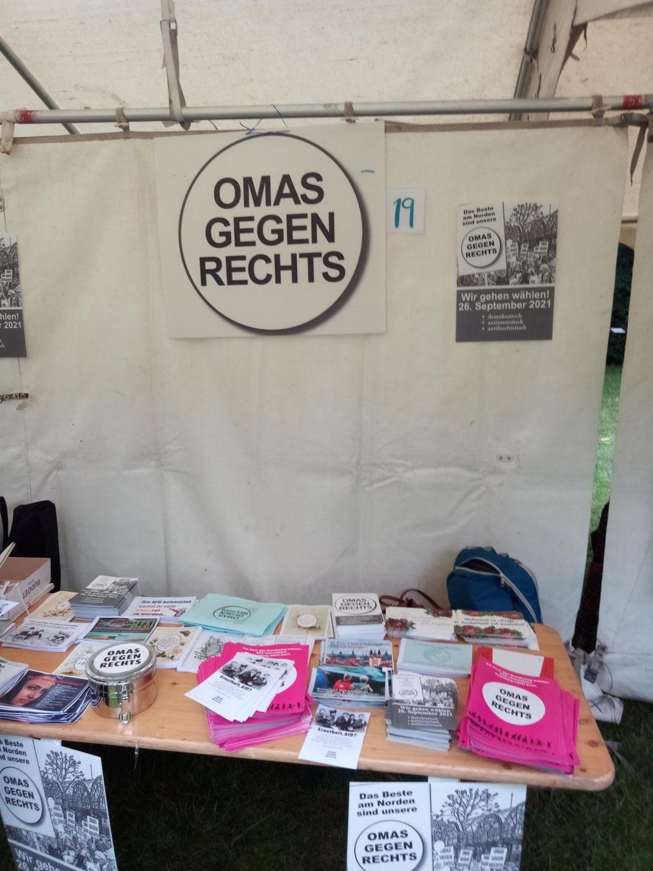 Hamburg-Harburg: Vielfaltfest mit den OMAS GEGEN RECHTS