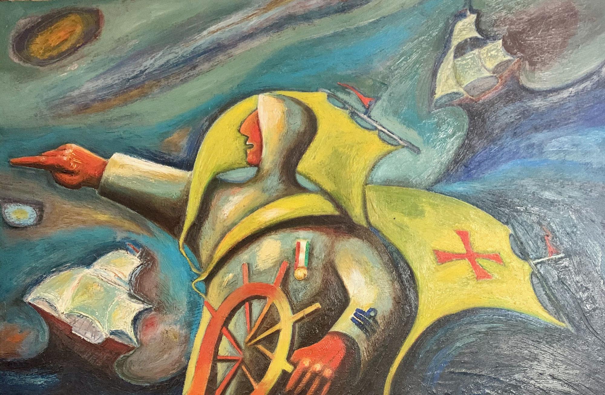 L'espressionismo materico di Danilo Corsetti