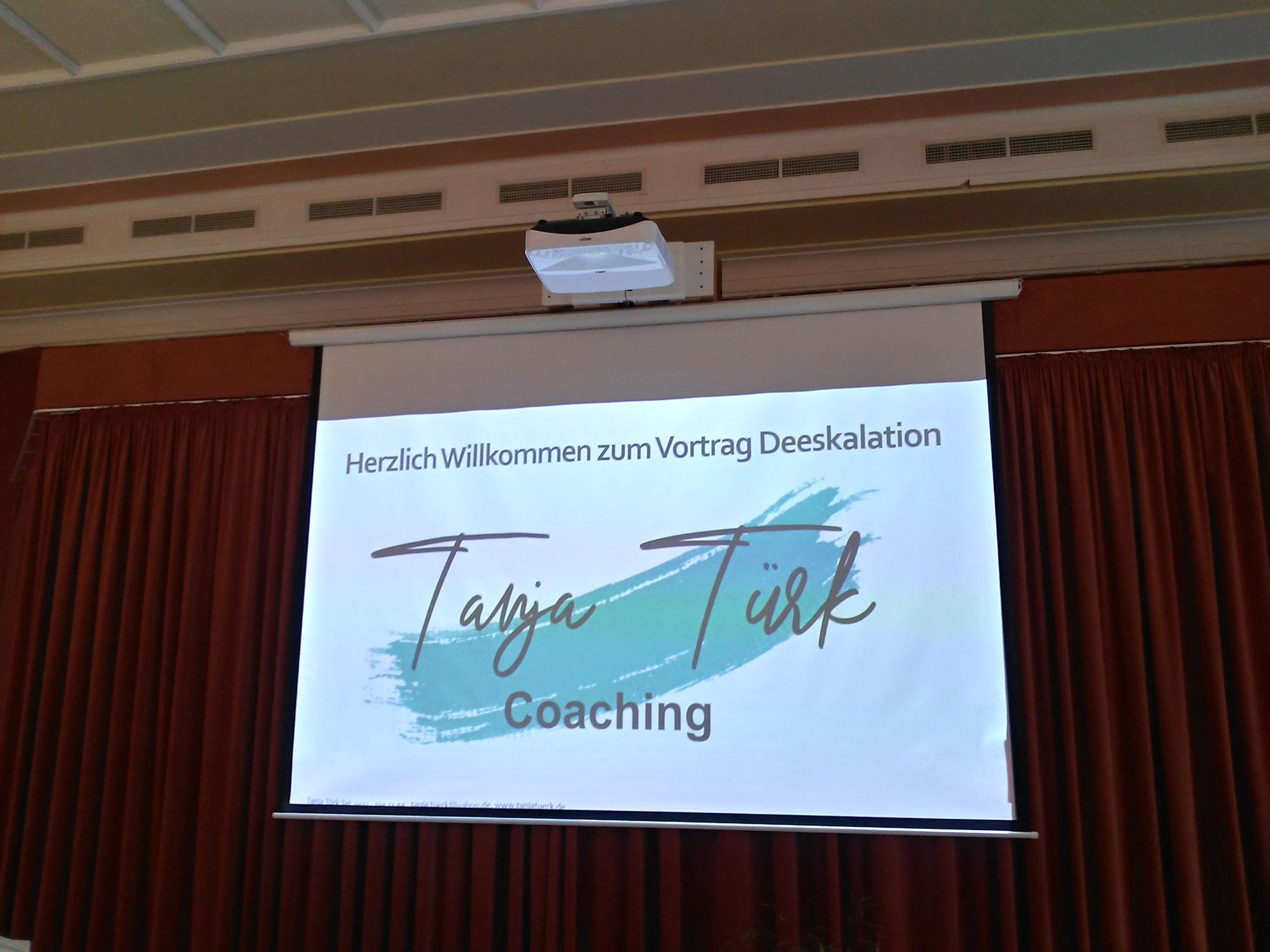 Vortrag zum Thema Deeskalation in Bad Tabarz