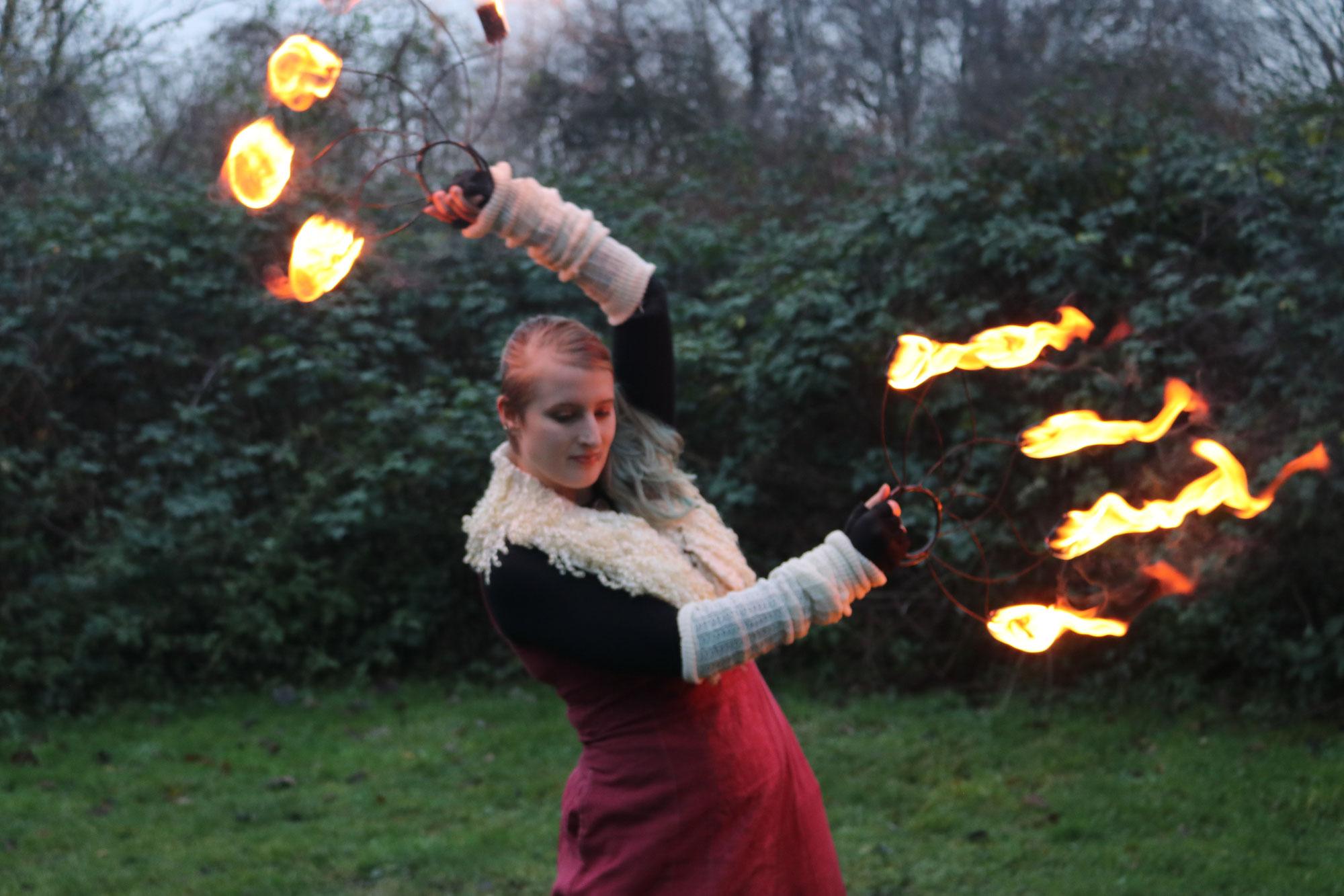 Warum ich es liebe mit dem Feuer zu tanzen