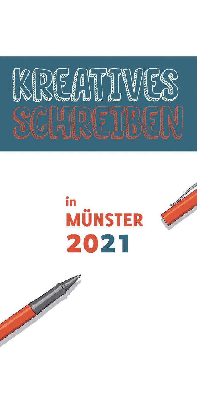 Kreatives Schreiben 2021: Broschüre erschienen