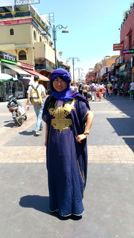 モロッコから日本に帰国しても、いつでも帰る「家(家族)」があるって幸せだと思いました。