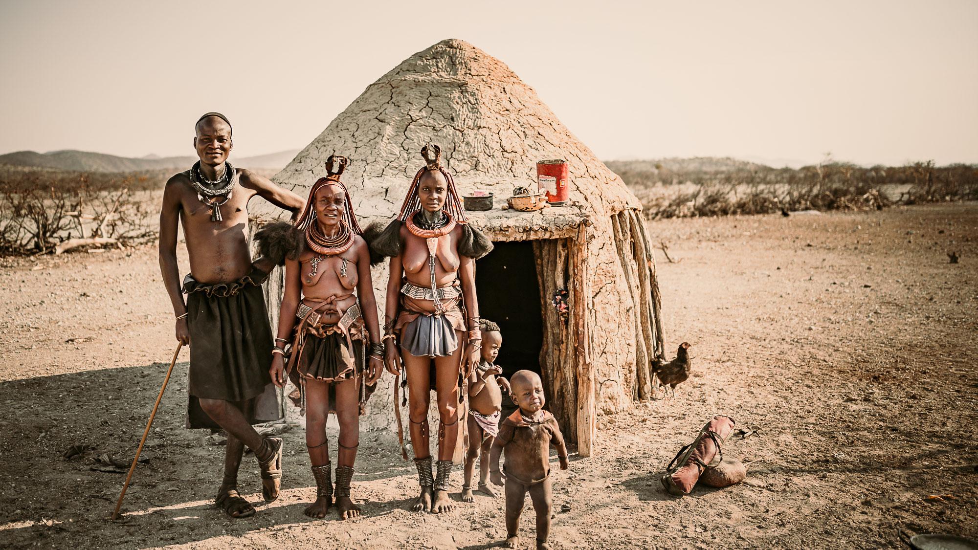 Himba portrait series