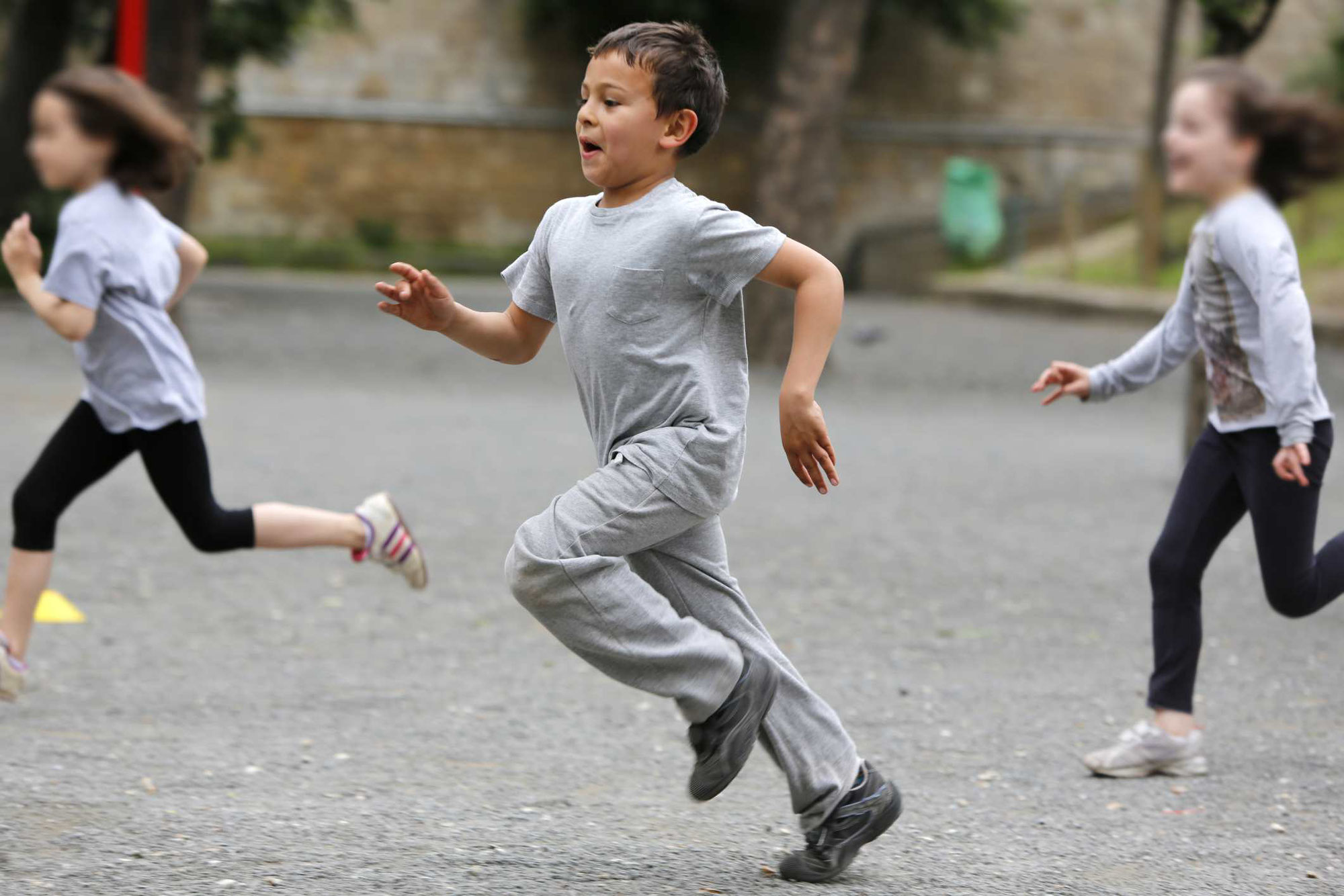 子供の現在の運動状況