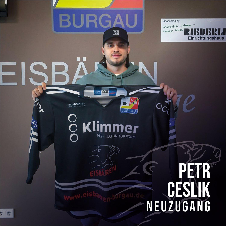 Petr Ceslik verstärkt die Eisbären Offensive