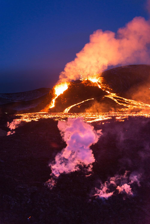 Der Vulkan, was ein toller Zufall
