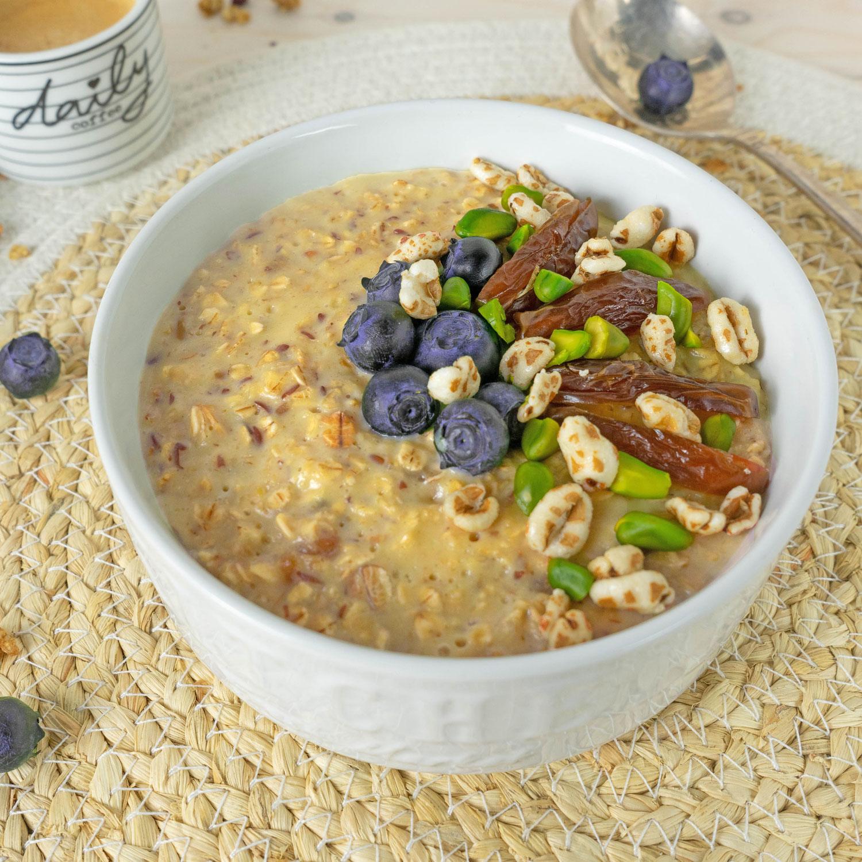 Dattel Porridge (vegan)