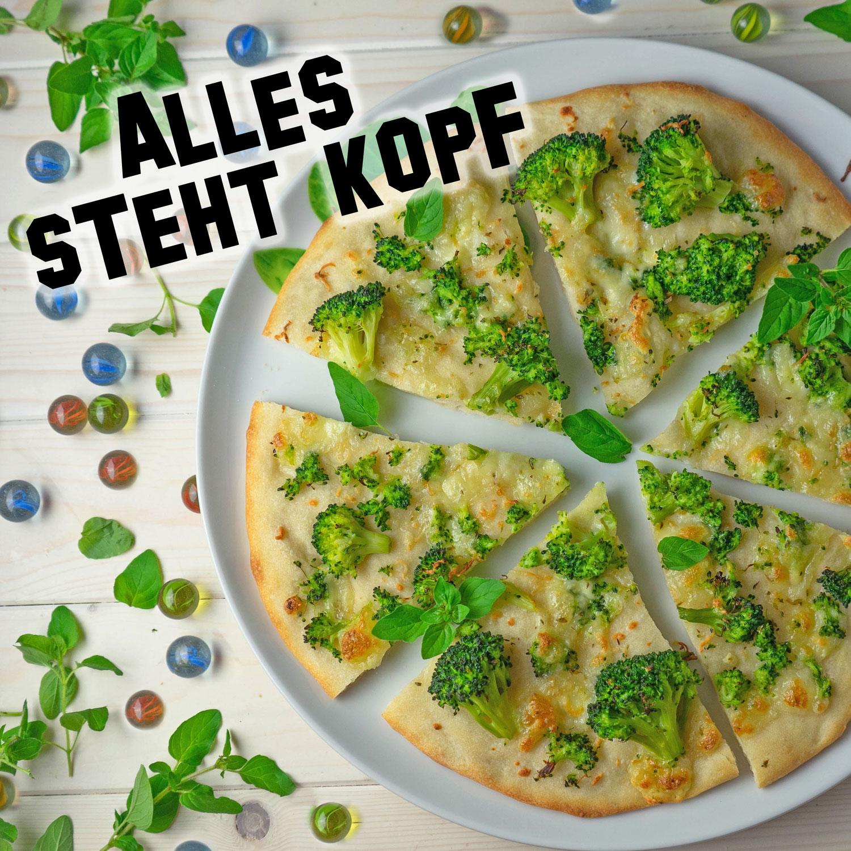Broccoli Pizza aus Alles steht Kopf