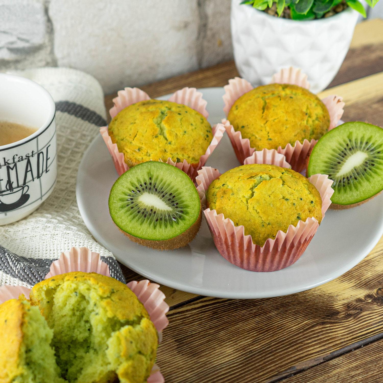 Kiwi Muffins