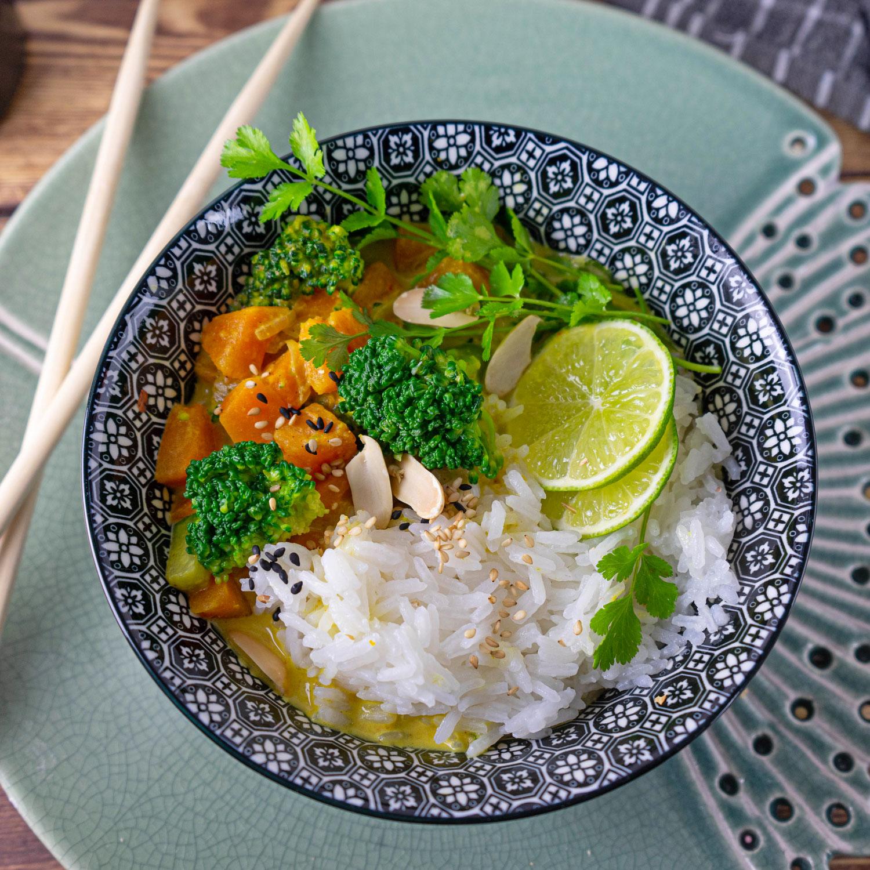 Thai  Gemüse Curry