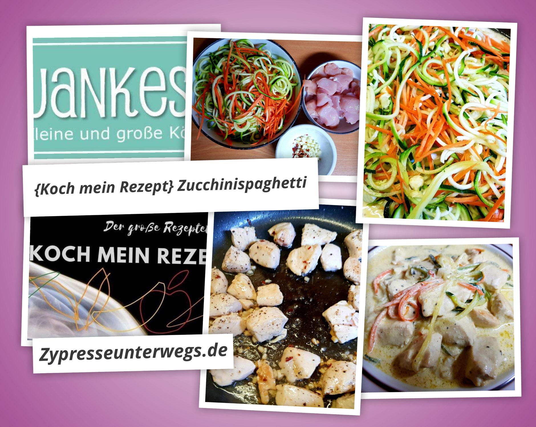 {Koch mein Rezept} Zucchini-Spaghetti nach Jankes Rezept