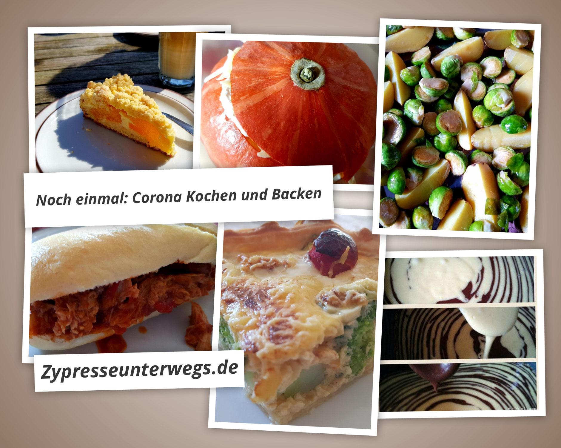 Noch einmal: Kochen und Backen in Corona-Zeiten