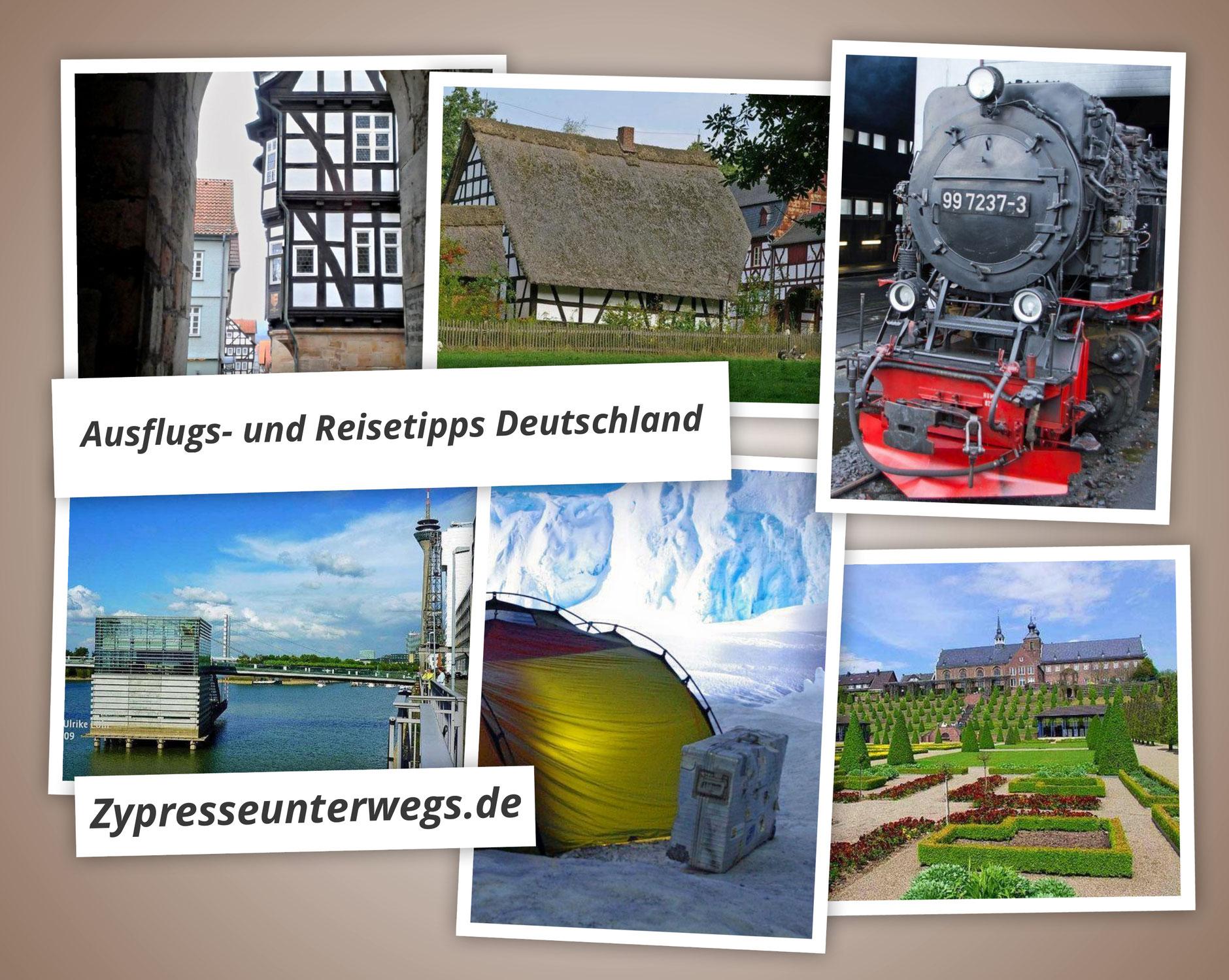 Nochmals 11 Ausflugs- und Reisetipps in Deutschland