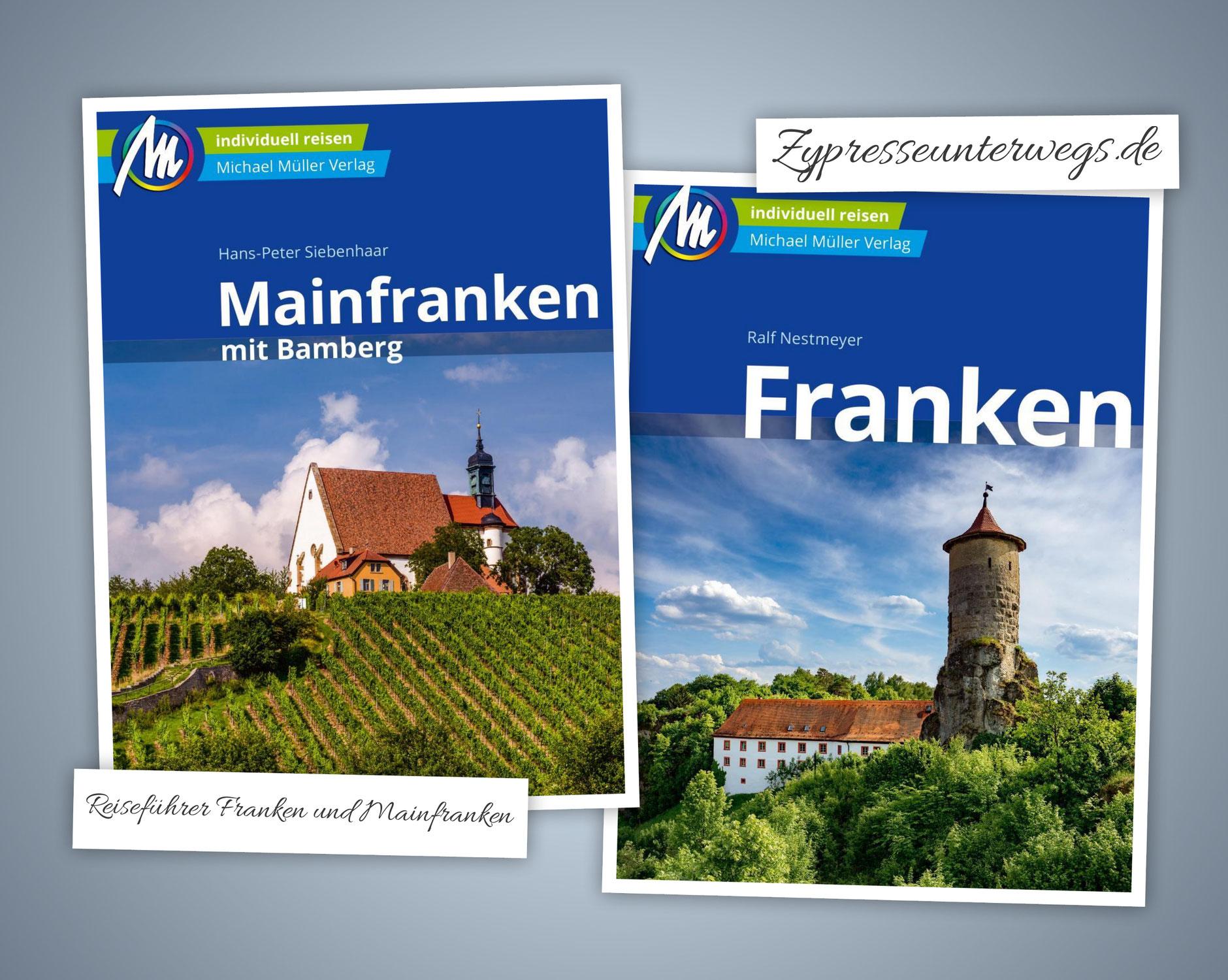 Reiseführer Franken und Mainfranken mit Bamberg