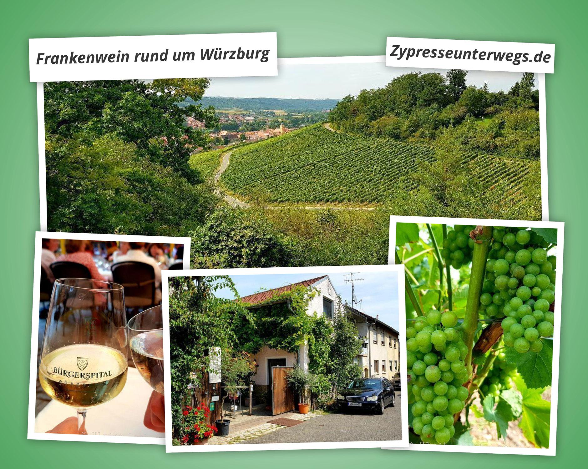 Frankenwein rund um Würzburg